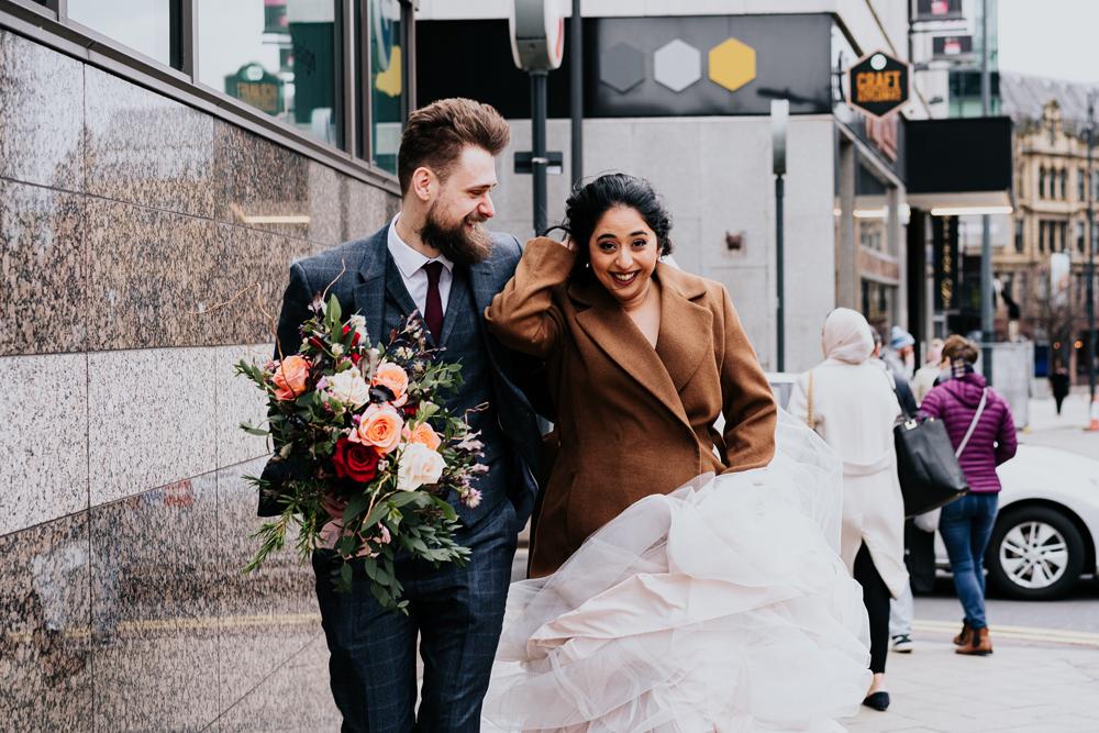 city wedding vibes